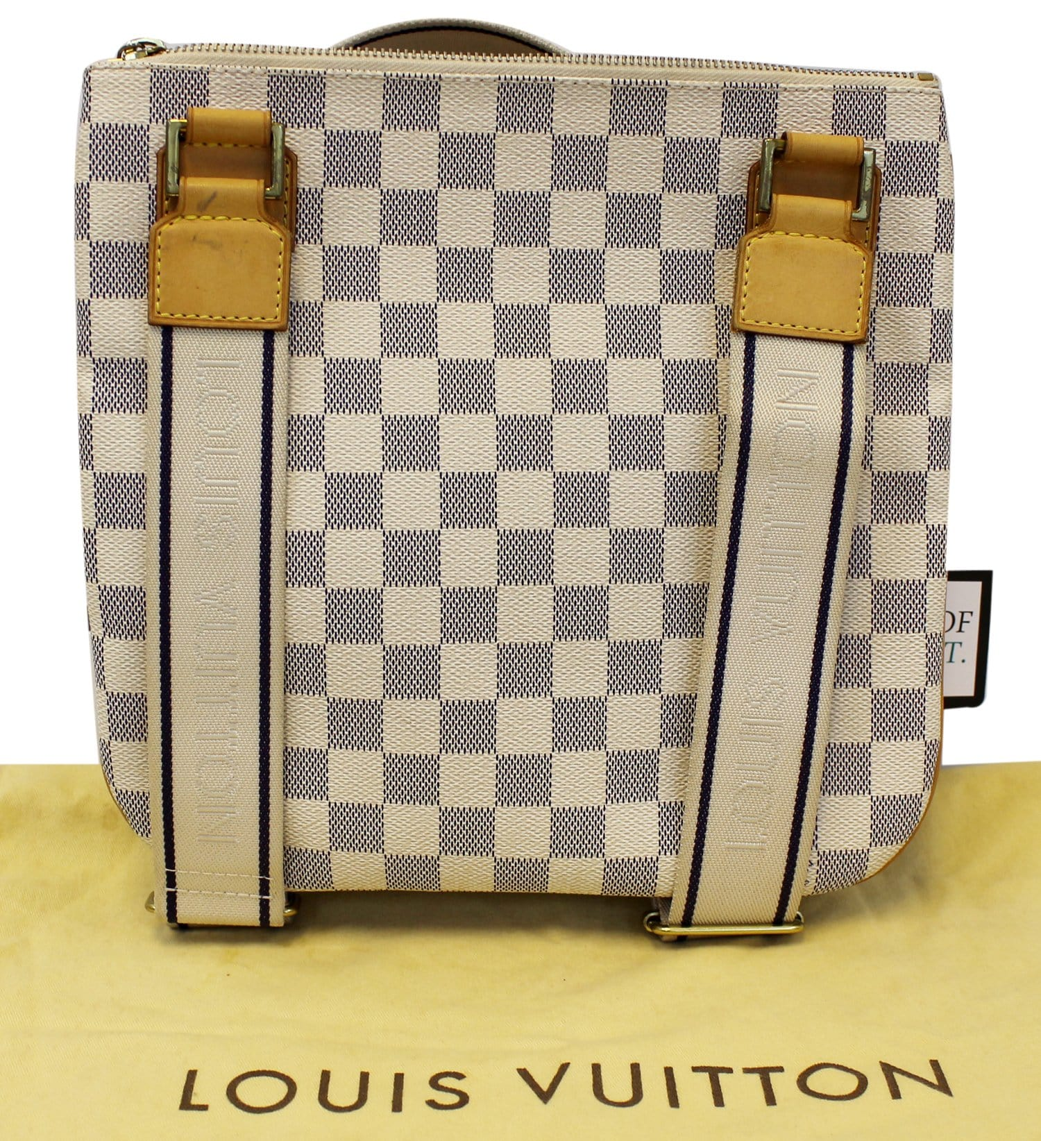 a6cce5bda2 LOUIS VUITTON Damier Azur Pochette Bosphore Crossbody Bag