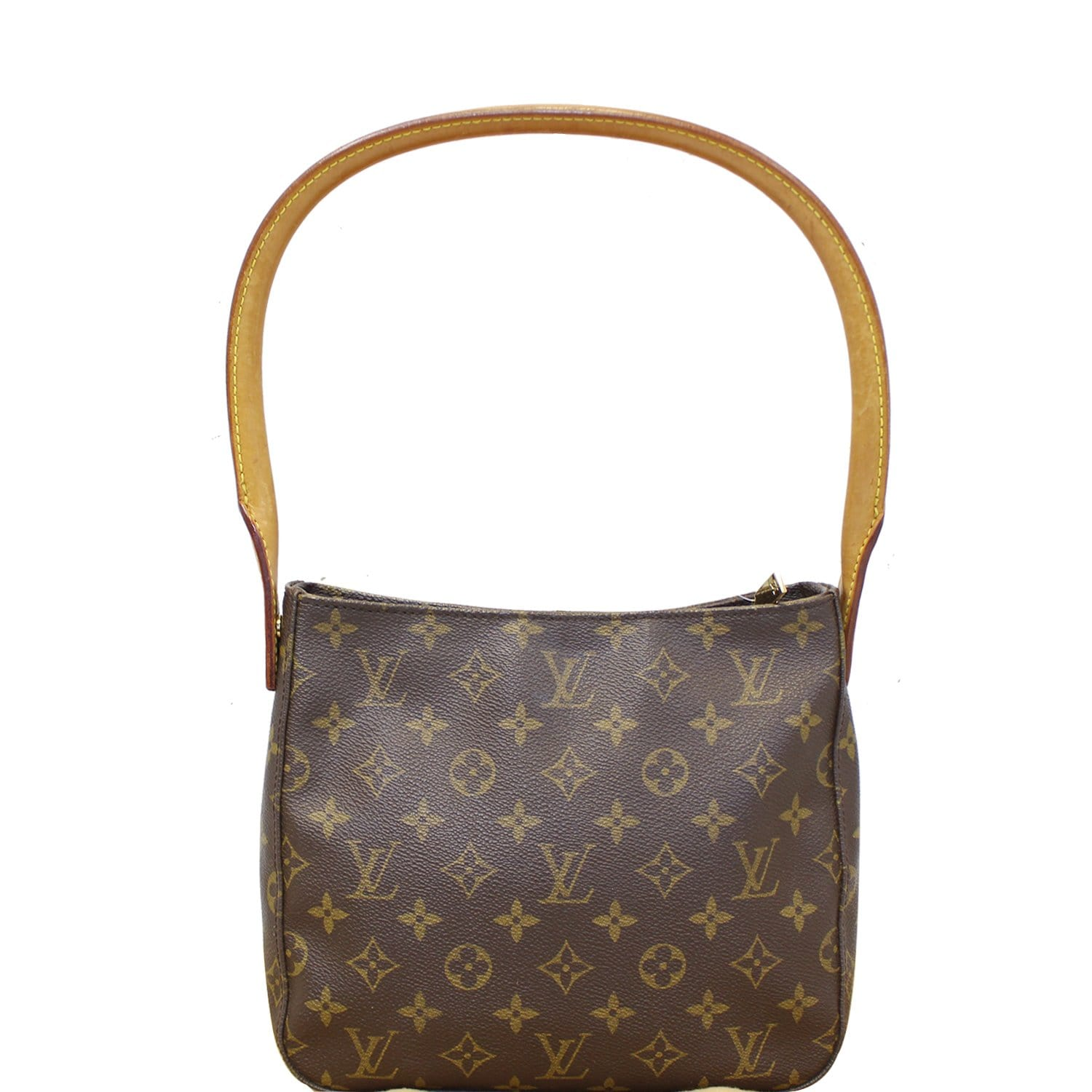 f8f0078338d9 LOUIS VUITTON Looping MM Monogram Canvas Shoulder Bag Brown-US ...
