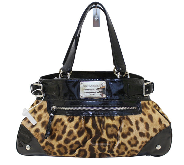 DOLCE & GABBANA Ponyhair Miss Silky Shoulder Bag - 30% Off