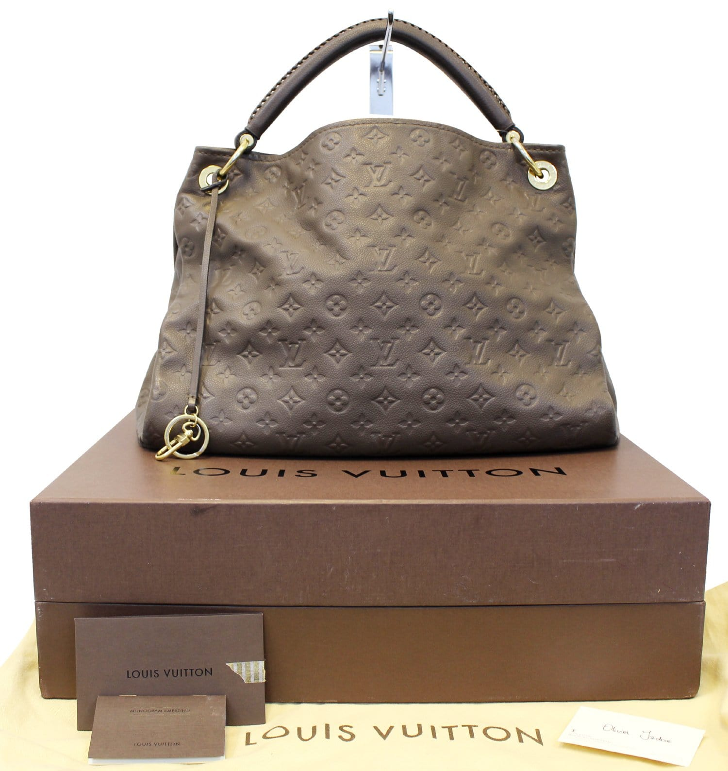 b5b74e1fa37a5 Authentic LOUIS VUITTON Empreinte Ombre Monogram Artsy Shoulder Bag TT