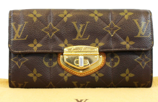 LOUIS VUITTON Monogram Canvas Sarah Etoile Wallet