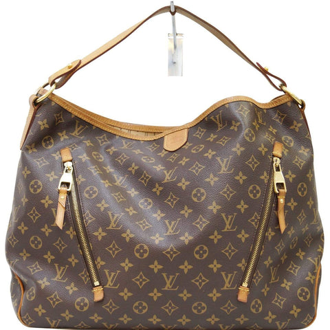 LOUIS VUITTON Delightful GM Monogram Canvas  Shoulder Bag Brown