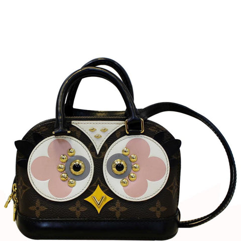 LOUIS VUITTON Nano Alma Owl Crossbody Shoulder Bag