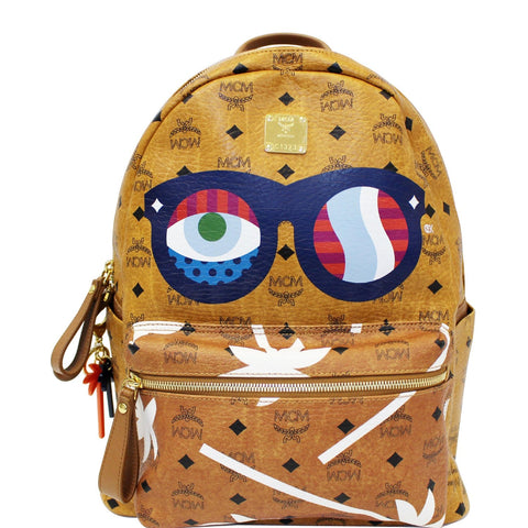 MCM Eyes On The Horizon Backpack Bag