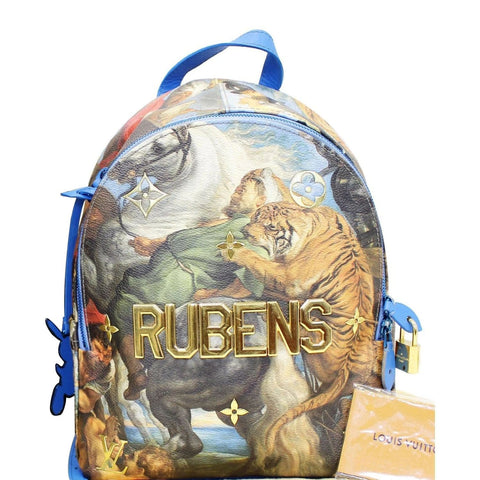 Louis Vuitton Masters Jeff Koons Rubens Palm Springs Backpack Bag - 20% OFF