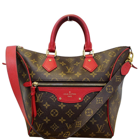 LOUIS VUITTON Tournelle PM Monogram Canvas Shoulder Handbag Cerise - 20% OFF