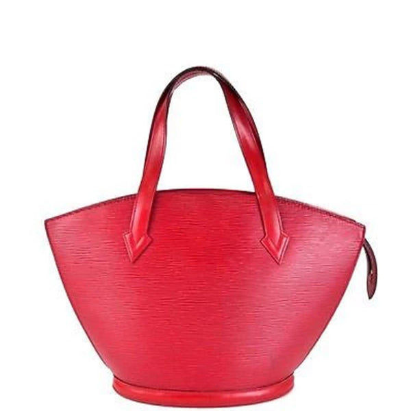 LOUIS VUITTON Red Epi Leather Saint-Jacques Purse Bag - Sale
