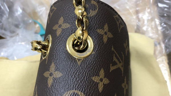 Authentic LOUIS VUITTON Monogram Victoire Shoulder Bag E3078