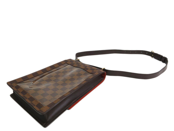 LOUIS VUITTON Portobello Damier Ebene Shoulder Bag