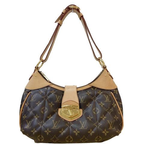 LOUIS VUITTON Etoile PM Monogram Canvas Shoulder Bag Brown