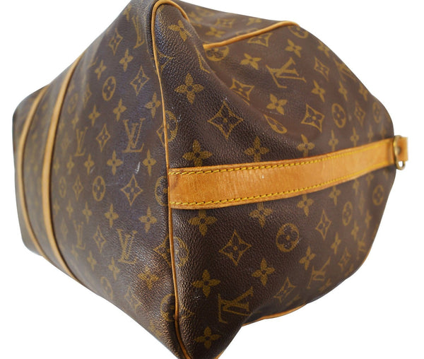 LOUIS VUITTON Monogram Keepall 55 Bandouliere Travel Bag