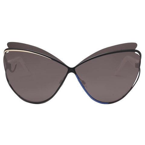 Christian Dior Audacieuse1 4CHY1 72 Women Sunglasses Grey Lens