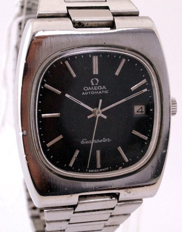 Omega Men's Seamaster Automatic Cal.1012 Black Dial Watch
