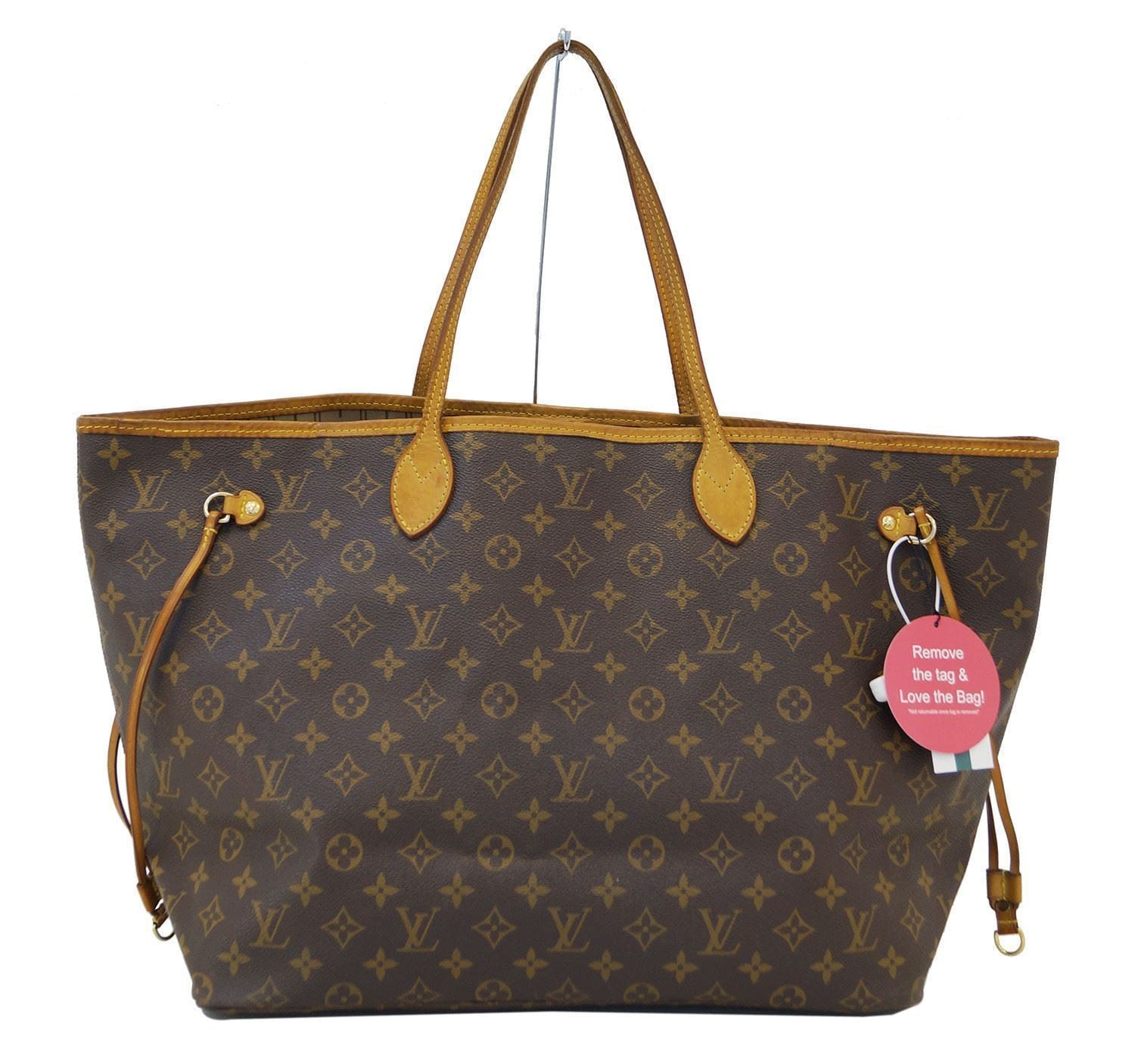 6ba0aee157 LOUIS VUITTON Monogram Neverfull GM Shoulder Bag
