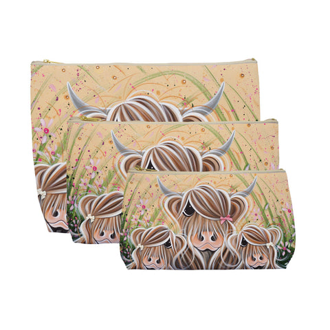 Jennifer Hogwood, The McMoos, Bow Peeps - Makeup / Wash Bags