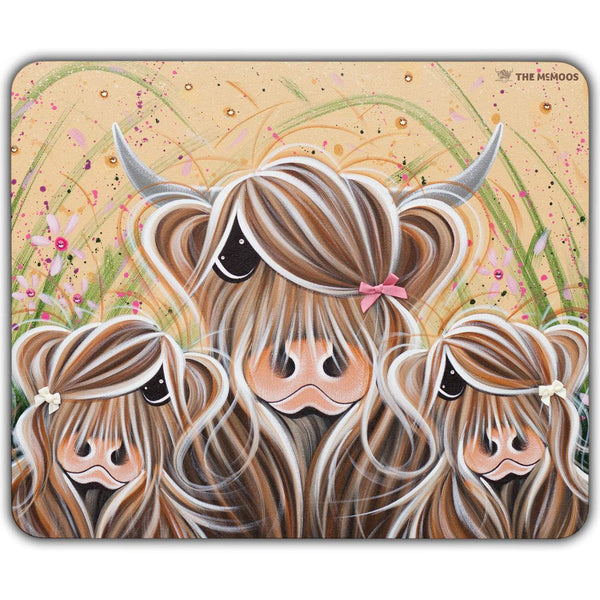 Jennifer Hogwood, The McMoos, Bow Peeps - Placemats