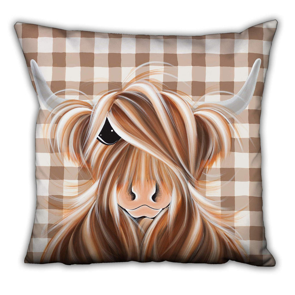 Jennifer Hogwood, The McMoos, Check Moo Out - Suede Cushions