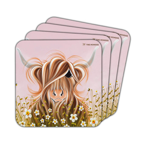 Jennifer Hogwood, The McMoos, Daisy - Coasters