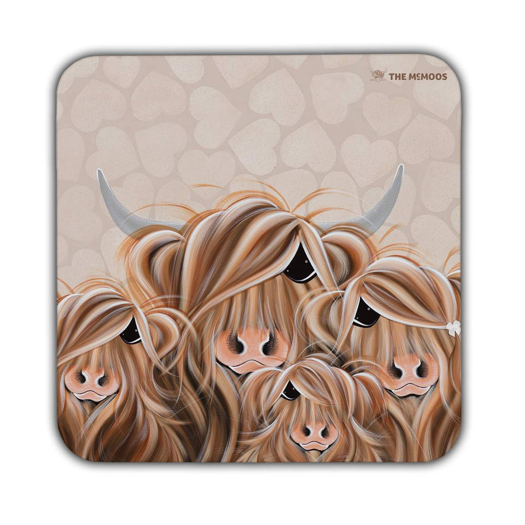 Jennifer Hogwood, The McMoos, Fa-Moo-Ly Forever - Coasters