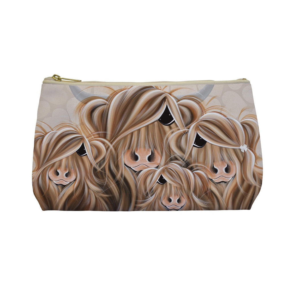 Jennifer Hogwood, The McMoos, Fa-Moo-Ly Forever - Makeup / Wash Bags
