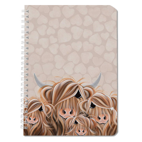 Jennifer Hogwood, The McMoos, Fa-Moo-Ly Forever - Notebooks