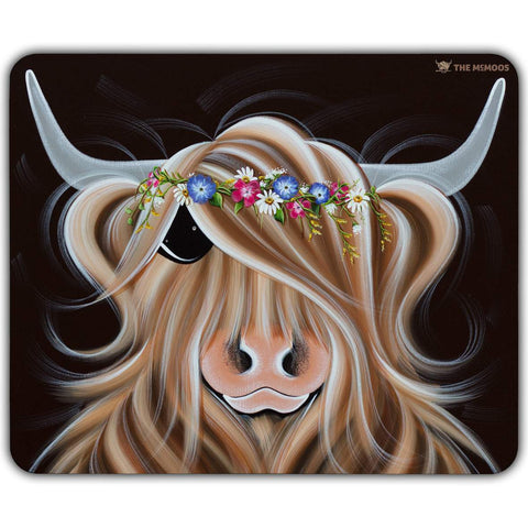 Jennifer Hogwood, The McMoos, Flora - Placemats