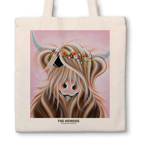 Jennifer Hogwood, The McMoos, Flower girl - Canvas Bag