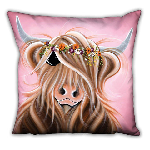 Jennifer Hogwood, The McMoos, Flower Girl - Suede Cushions