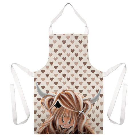 Jennifer Hogwood, The McMoos, I Love Moo - Apron