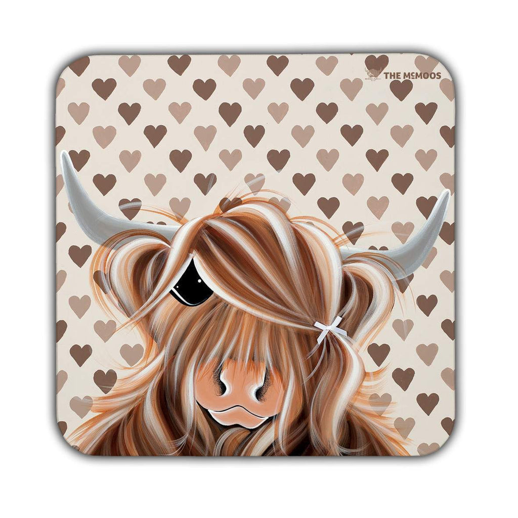 Jennifer Hogwood, The McMoos, I Love Moo - Coasters