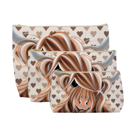 Jennifer Hogwood, The McMoos, I Love Moo - Makeup / Wash Bags