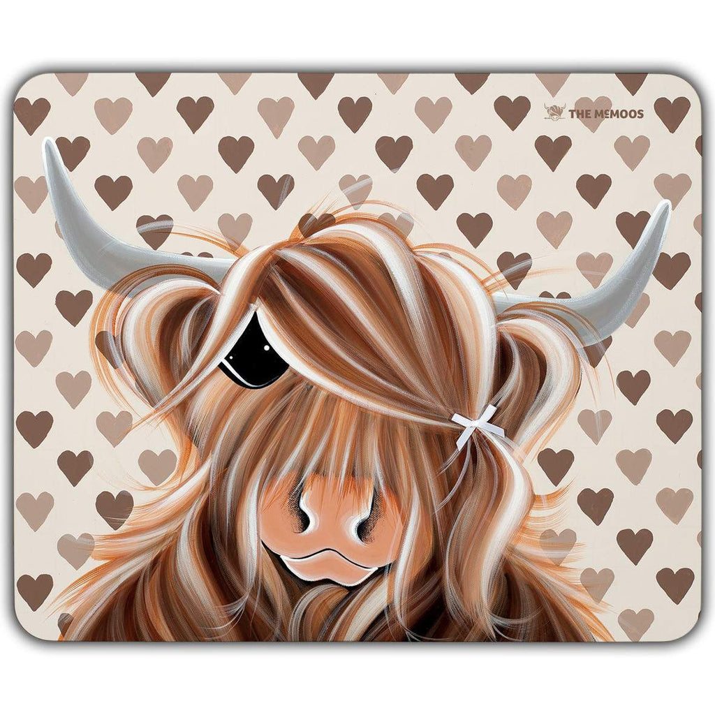 Jennifer Hogwood, The McMoos, I Love Moo - Placemats