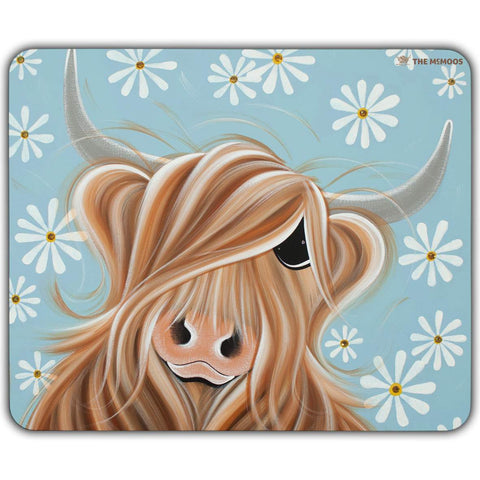 Jennifer Hogwood, The McMoos, Little Miss Daisy - Placemats