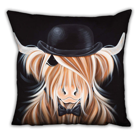 Jennifer Hogwood, The McMoos, McBeau - Suede Cushions