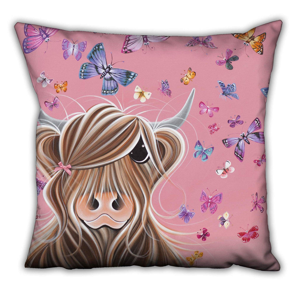 Jennifer Hogwood, The McMoos, McFly - Suede Cushions