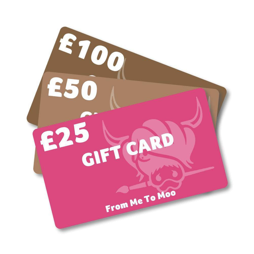 Jennifer Hogwood, The McMoos, McMoo Gift Card