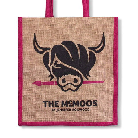 Jennifer Hogwood, The McMoos, Standard jute shopping bag