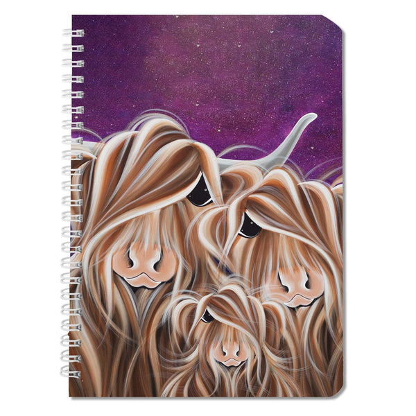 Jennifer Hogwood, The McMoos, Stars In The Highland - Notebooks