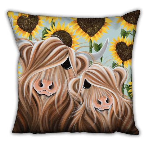Jennifer Hogwood, The McMoos, Sunshine Of My Life - Suede Cushions