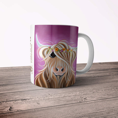 Jennifer Hogwood, The McMoos, Beatrice - 11oz Ceramic Mug