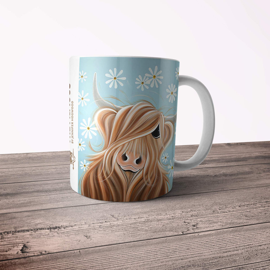 Jennifer Hogwood, The McMoos, Little Miss Daisy - 11oz Ceramic Mug