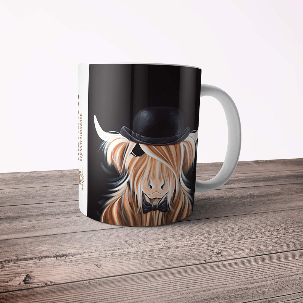 Jennifer Hogwood, The McMoos, McBeau - 11oz Ceramic Mug