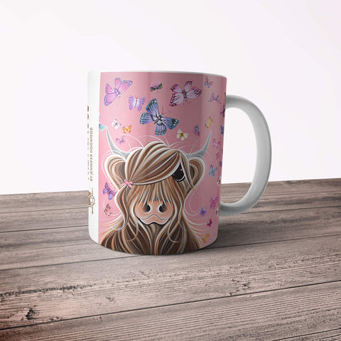 Jennifer Hogwood, The McMoos, McFly - 11oz Ceramic Mug