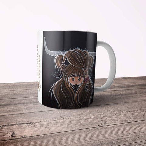 Jennifer Hogwood, The McMoos, Tied To My Clan - 11oz Ceramic Mug