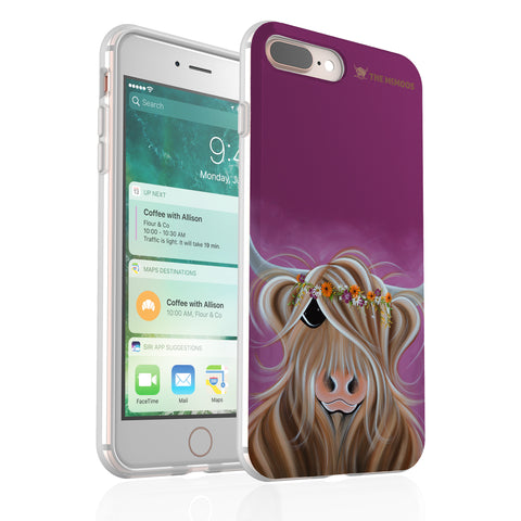 Jennifer Hogwood, The McMoos, Beatrice - Flexi Phone Case