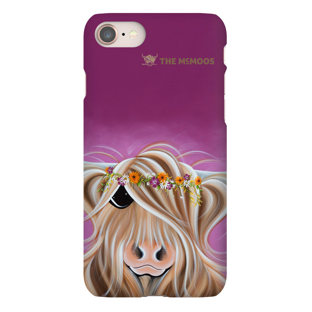 Jennifer Hogwood, The McMoos, Beatrice - Snap Phone Case