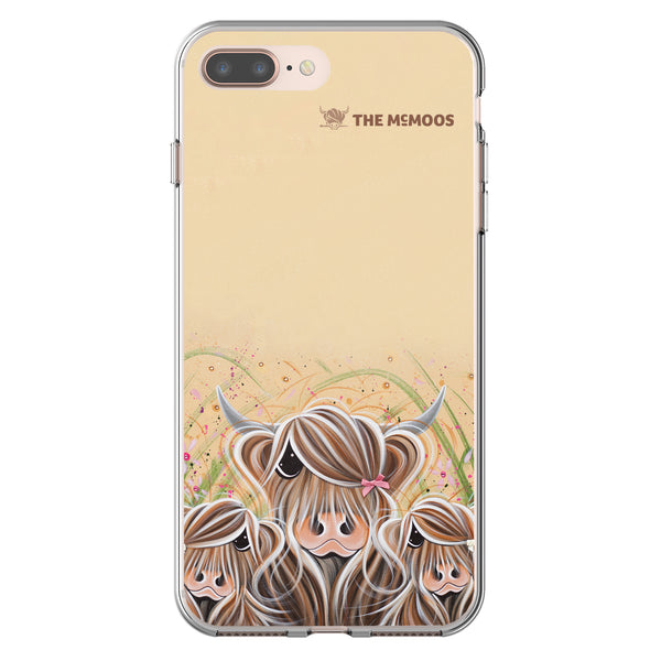 Jennifer Hogwood, The McMoos, Bow Peeps - Flexi Phone Case