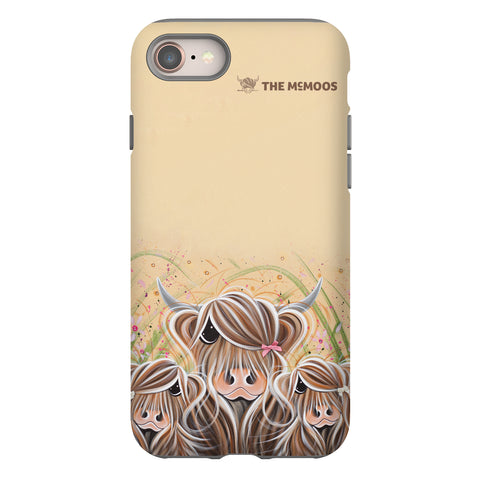Jennifer Hogwood, The McMoos, Bow Peeps - Tough Phone Case