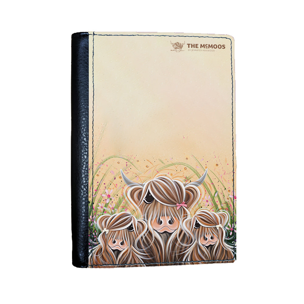 Jennifer Hogwood, The McMoos, Bow Peeps - Passport Cover