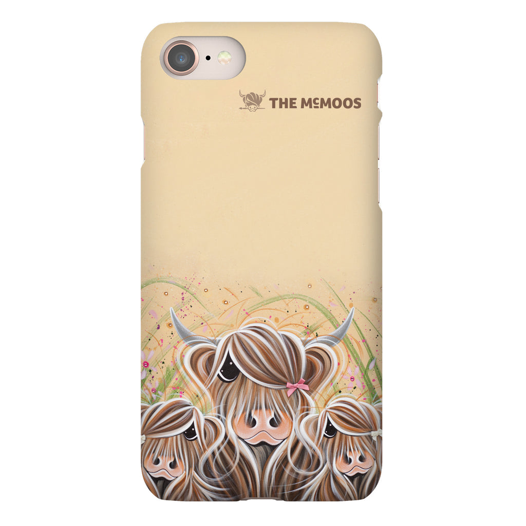 Jennifer Hogwood, The McMoos, Bow Peeps - Snap Phone Case